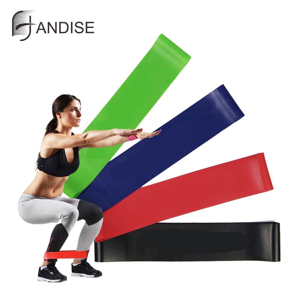 4pcs/Set Latex Resistance Bands Fitness Set Rubber Loop Bands Strength Training Workout Expander Gym Equipment Elastic Bands