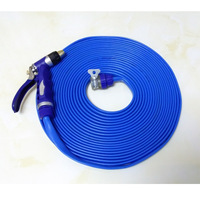 30m Garden water hose Water band With High pressure car wash nozzle
