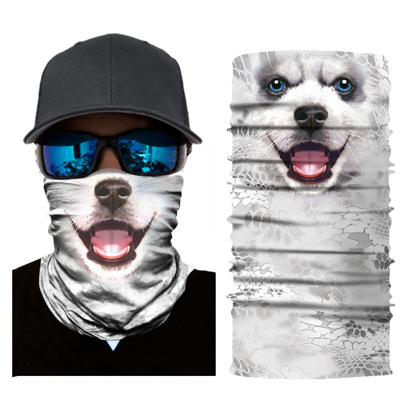 3D Animal Seamless Balaclava Scarf 15