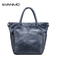 Women S First Layer Of Leather Handbags Casual Shoulder Bag Famous Brand Genuine Leather Women Messenger