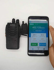 Image 3 - walkie talkie bluetooth wiressless programming adaptor with gps location share for baofeng uv 5r bf 888s anysecu radio station