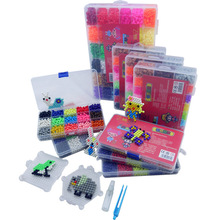 6000pcs DIY Water beads Hand Making 3D 5mm diy toy Beads Puzzle Educational Toys for Children Spell Replenish