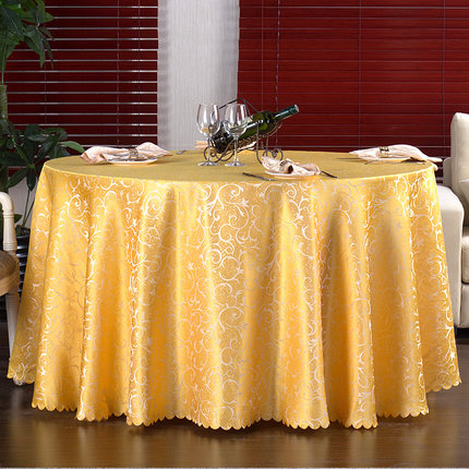 Hotel Round Tablecloth Restaurant Square European Style Wedding Dining Table Coffee Cloth