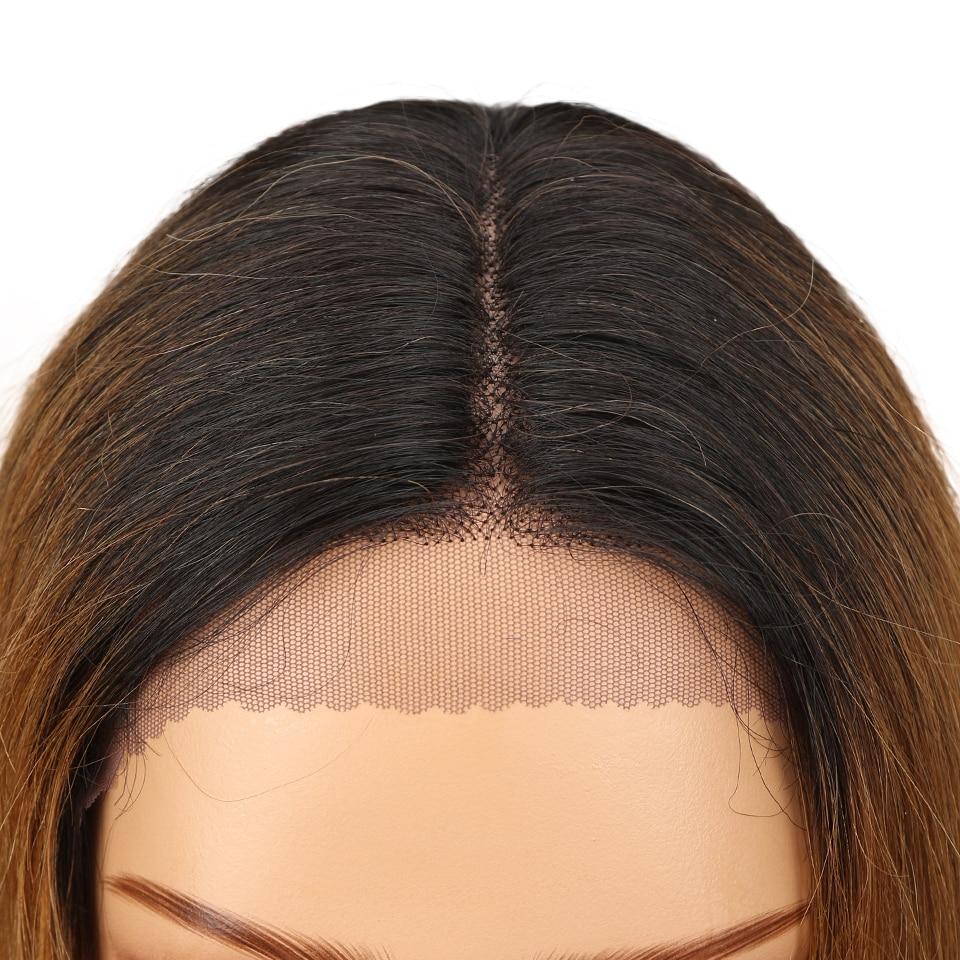 de cabelo brasileiro do fechamento da parte