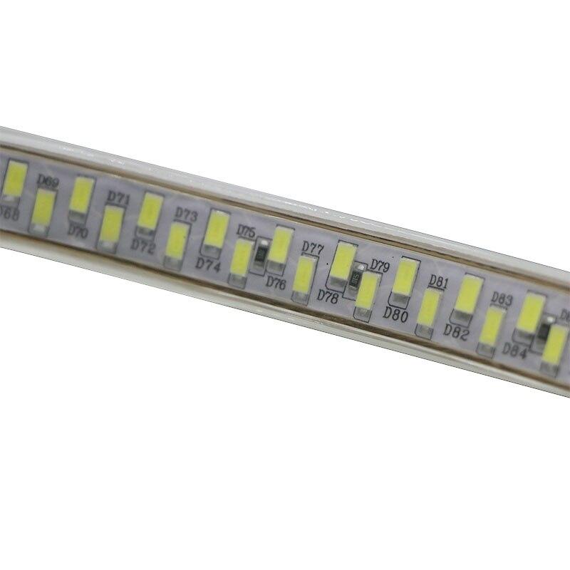 DC 12 В 5730 5630 Светодиодные полосы света гибкий светодиодный свет полосы водонепроницаемый Fita 60 Светодиодный/м с самоклеющейся задней лентой - 3