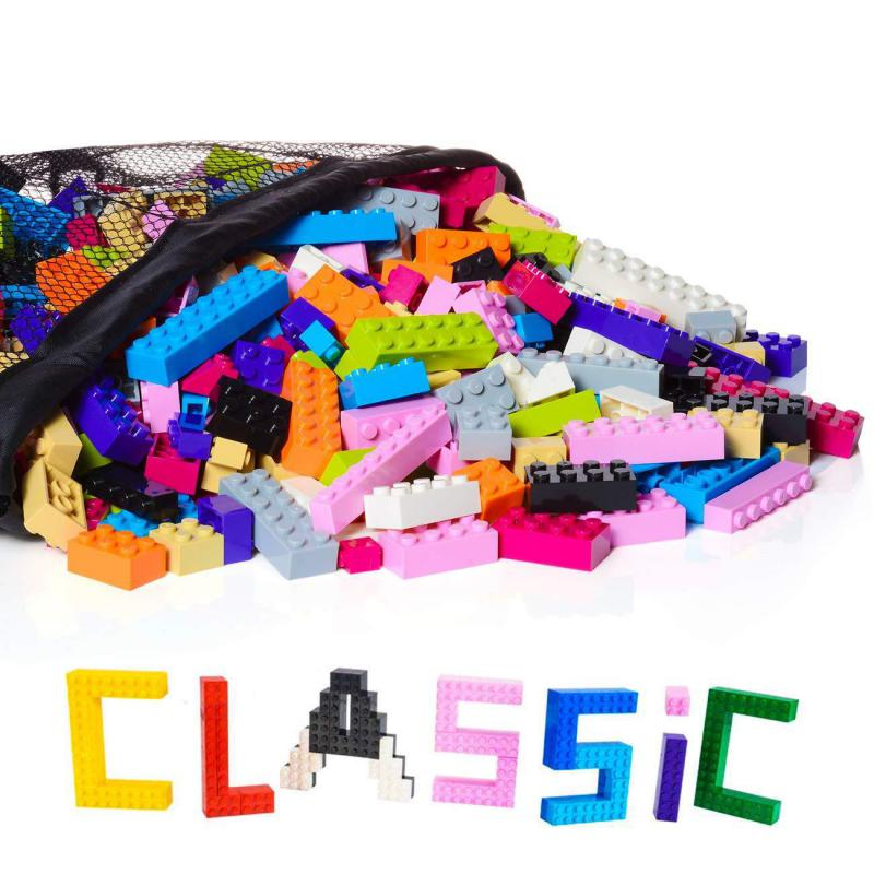 Hobby Tools Kids Large Pack Regular Colors 1000 Pieces Building Bricks Toy Juguetes Educativos For Children Boy Girls Toy mb003