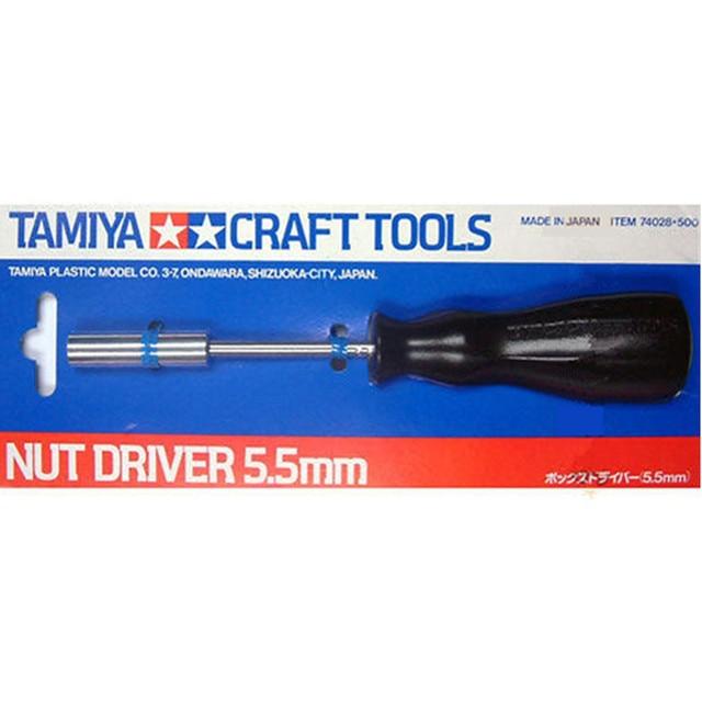 OHS Driver Nut 5.5mm Para O Modelo de Carro Tamiya 74028 Modelo Ferramentas Hobby Craft Acessório