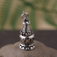 FNJ 925 Silver Buddha Pendant New Fashion Gawu Box 100% Pure S925 Original Thai Silver Pendants for Women Men Jewelry Making