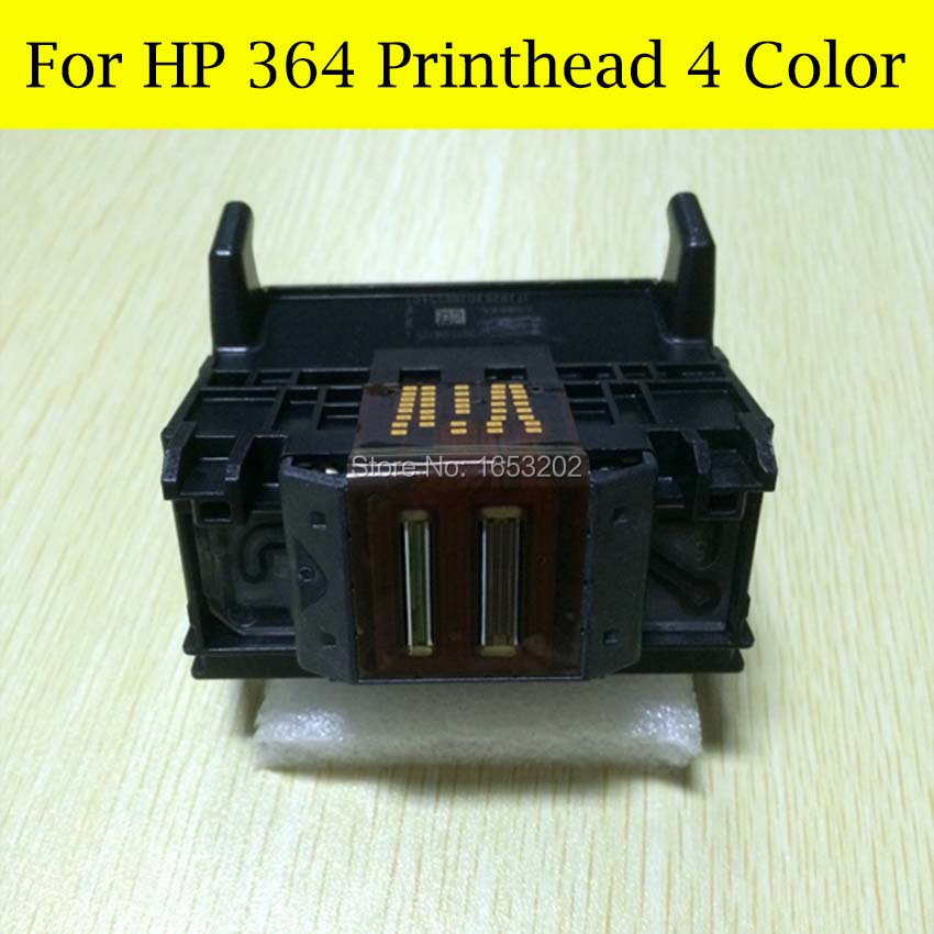 The Stability 4 Color 364XL Printer Head For HP Printer 5524 B210A B109A B109D B109F B110A B210c For HP364 Printerhead stp411f 256 printerhead for seiko low price thermal printerhead printer accessories print head printing part printer mechanism
