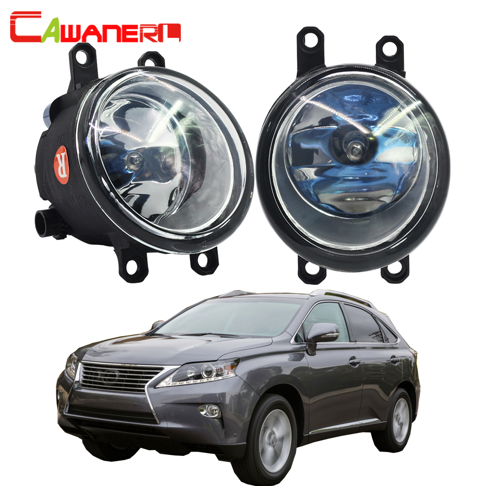 Cawanerl 1 Pair 100W H11 Car Light Halogen Fog Light Daytime Running Lamp DRL Styling 12V For 2010-2013 Lexus RX350 RX450h for lexus rx gyl1 ggl15 agl10 450h awd 350 awd 2008 2013 car styling led light emitting diodes drl fog lamps