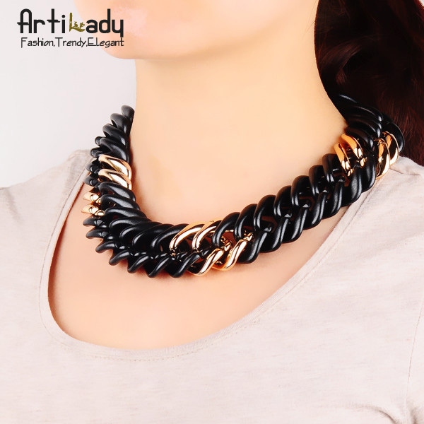 Artilady hot sale  chain necklace jewelry  choker collar 2015 women jewelry