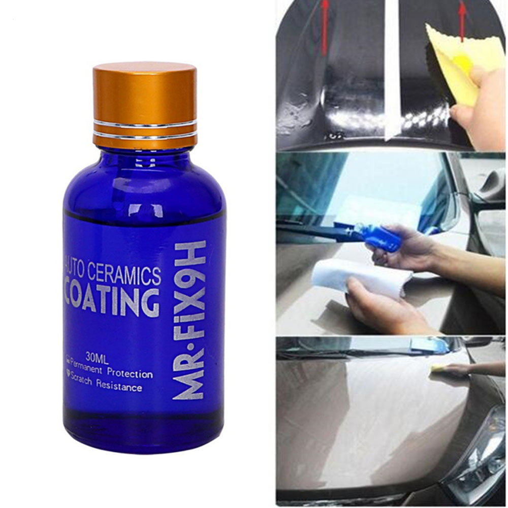 Image 2 - Car Coating Car Polish Liquid Ceramic Coat 9H Anti scratch Glass Auto Detailing Glasscoat Motorcycle Paint Care Dropshipping-in Paint Protective Foil from Automobiles & Motorcycles