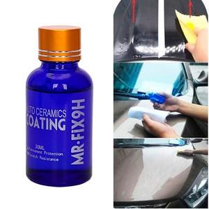 Image 2 - Car Coating Car Polish Liquid Ceramic Coat 9H Anti scratch Glass Auto Detailing Glasscoat Motorcycle Paint Care Dropshipping