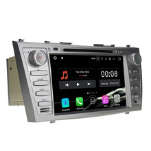 "2GB RAM 8"" Quad Core Android 7.1.1 16GB ROM Car DVD Radio Multimedia Player GPS for Toyota Camry Aurion 2007 2008 2009 2010"