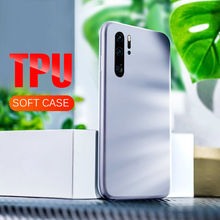 Luxury TPU Silicone Bumper Case On The For Huawei P30 P20 Pro P10 Shockproof Back Cover For Huawei P30 P20 Lite Soft Phone case(China)