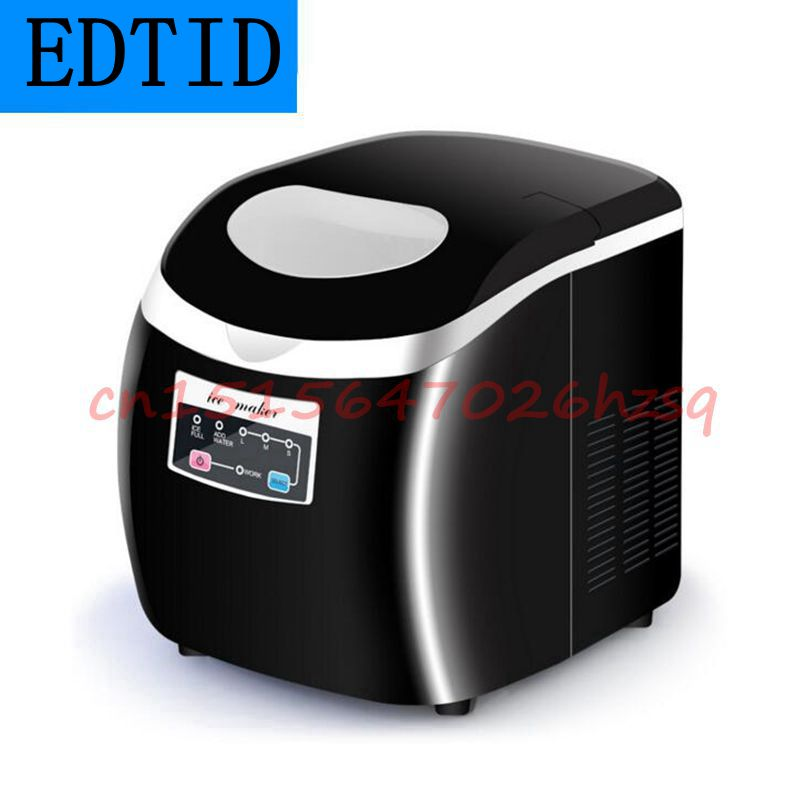 EDTID Automatic Fast Ice Maker machine Commercial Use For Milk tea shop Household Electric Three kinds of ice 2016 new generation powerful 220v electric ice crusher summer home use milk tea shop drink small commercial ice sand machine zf