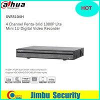 Dahua XVR video recorder DVR XVR5104H 4ch Support HDCVI/ AHD/TVI/CVBS/IP 1 SATA HDD,1080P P2P H.264+/H.264 1080P Lite Mini 1U