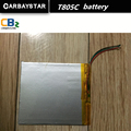 Factory  wholesale 10.1 -inch tablet battery CARBAYSTAR T805C Our special battery  805  battery Lenovo T805C  tablet battery