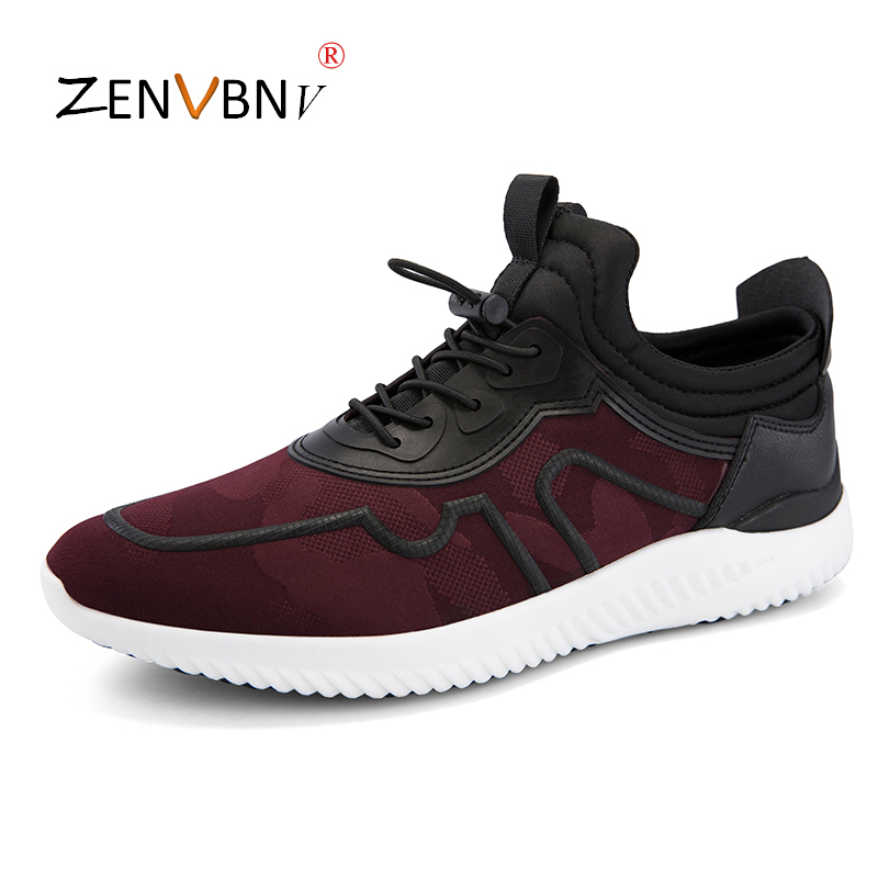 ZENVBNV Spring summers Popular fashion Casual Shoes Breathable soft Male sneakers adult autumn Non slip Outsole Comfortable