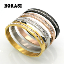 Fashion Costume Couples Jewelry Stainless Steel Lover Bracelets &