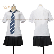 """Kisstyle Fashion Say """"I love you"""" Asami Oikawa Uniform COS Clothing Cosplay Costume,Customized Accepted"""
