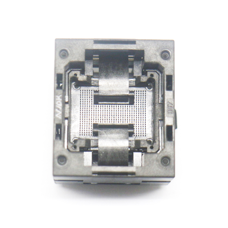 BGA132 BGA152 Burn in Socket BGA Adapter IC Test Socket For BGA88 BGA136 Flash Testing Programmer Adapter Open Frame Structure bga series socket burn in test and programming test for bga package ic chips by this link can help you find right bga adapter
