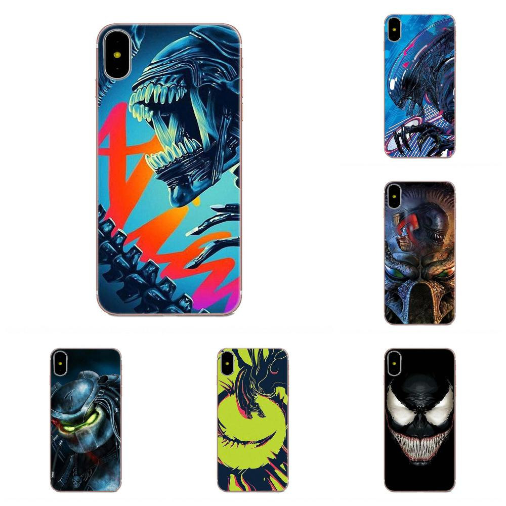 Soft Covers Capa For Galaxy J1 J2 J3 J330 J4 J5 J6 J7 J730 J8 2015 2016 2017 2018 mini Pro Anime Alien vs Predator