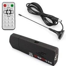 2016 DVB-T + DAB + FM + RTL2832U + R820T DTS numérique USB 2.0 TV Bâton Soutien DTS Tuner Récepteur avec Télécommande contrôleur