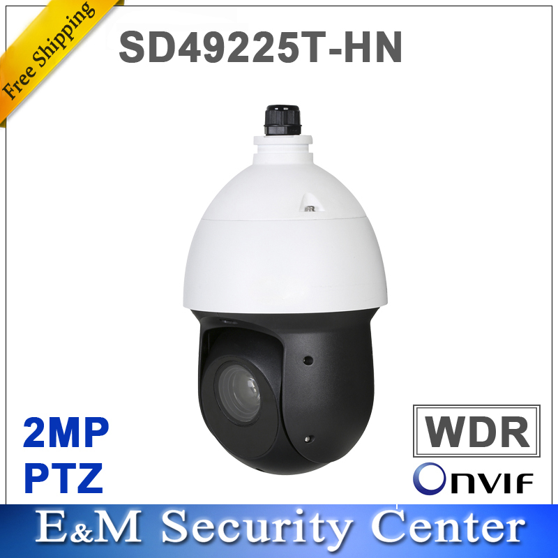 Original 2Mp DH SD49225T HN 2MP 25x Starlight IR PTZ Network Camera PTZ Camera IP66 SD49225T
