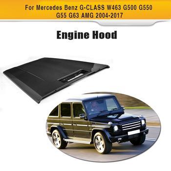 G класс углеродного волокна авто двигатель передняя крышка капота для Mercedes Benz W463 G500 G550 G55 G63 AMG 2004-2017 >> HSPEED KSLINE Official Store