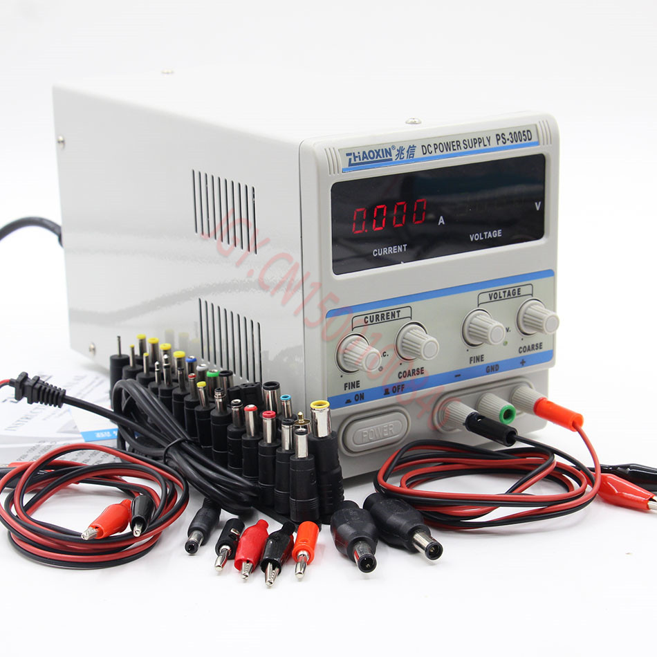 Buy Zhao Xin Ps 3005d Variable 30v 5a Dc Power 0 30v0 2a Adjustable Voltage And Current Regulator Supply Lab Grade 1ma 110v 220v Us Eu Uk Au From Reliable Suppliers On