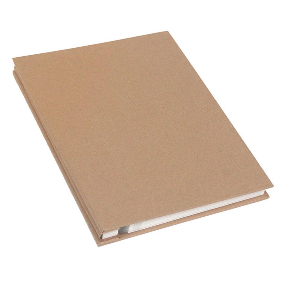Kraft Paper Manual DIY Photo Album Adhesive Film Photo Album 25 Sheets Self adhesive Family Memory