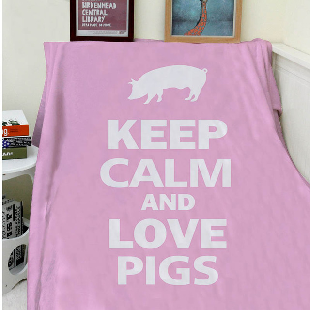 Blanket Comfort Warmth Soft Plush Easy Care Machine Wash Keep Calm Cool Keep Calm And Throw A Blanket On It