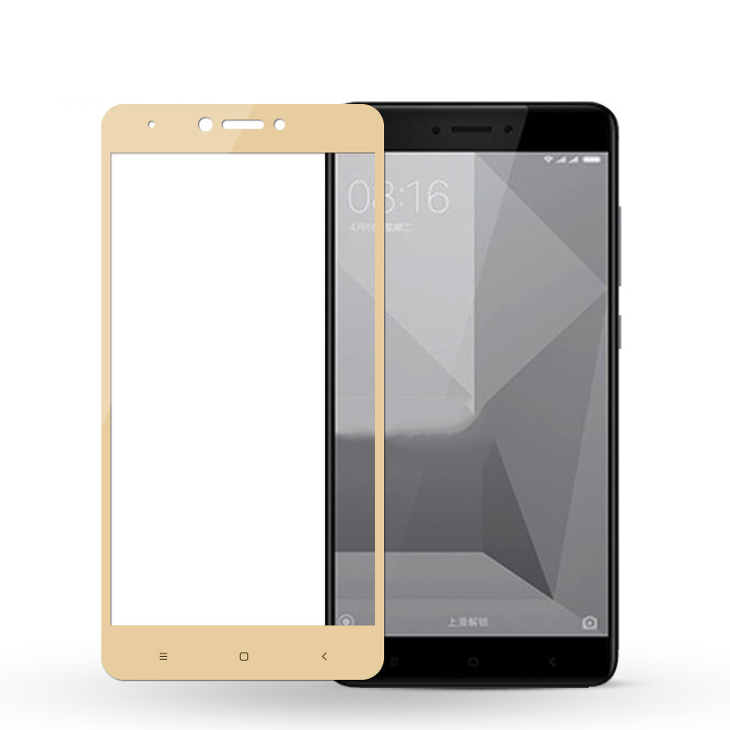 Protective Glass Full Screen Xiaomi Redmi 4X Redmi Note 4X 16 32G 64GB Global Version Screen Protect Tempered Glass Redmi Note 4 in Phone Screen Protectors from Cellphones Telecommunications