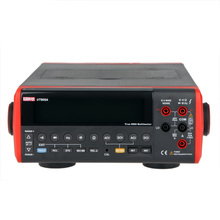 UNI-T UT805A 199999 Counts High-Accuracy Ture RMS LCD Bench Top Digital Multimeter Volt Amp Ohm Capacitance Hz Tester uni t ut803 ut 803 bench top digital multimeter volt amp ohm capacitance temp tester