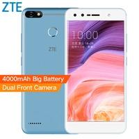 Original ZTE Blade A3 5,5 Zoll 4000 mAh Handy 4G LTE Quad Core 3 GB RAM 32 GB ROM 13.0MP Fingerabdruck Android 7.0 2 SIMs