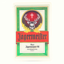 Alcohol Drink Jagermeister Deer Head Poster Classic Wall Sticker Home Bar Decor Vintage Metal Plaque Whiskey Wine Tin Sign