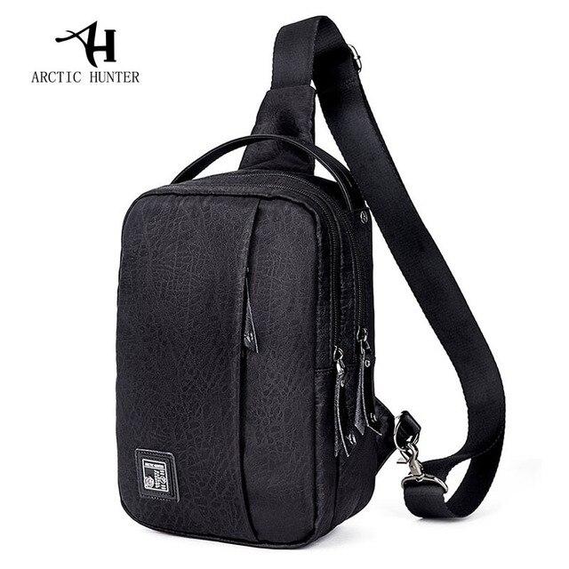 1aaf4440965b ARCTIC HUNTER Oxford Men Chest Pack Single Shoulder Strap Back Bag  Crossbody Bags for Women Sling