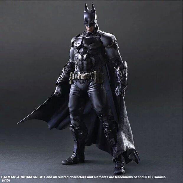 Hot Sale Classic DC Superhero The Dark Knight Rises Batman Bruce Wayne Play Arts Kai 11