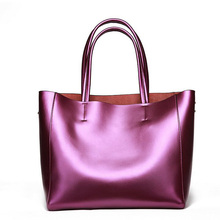 From natural cowhide leather female hand Bags For women Belt