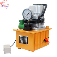 GYB 700A Hydraulic electric pump oil pressure Pedal with solenoid valve oil pressure pump 1pc 220V 750W