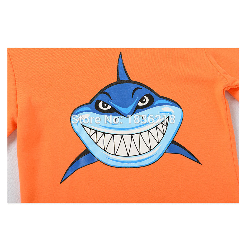 clothes usa picture more detailed picture about kids shark kids shark pajamas full sleeve pyjamas boys shark pijamas baby pure cotton sleepwear children clothes top