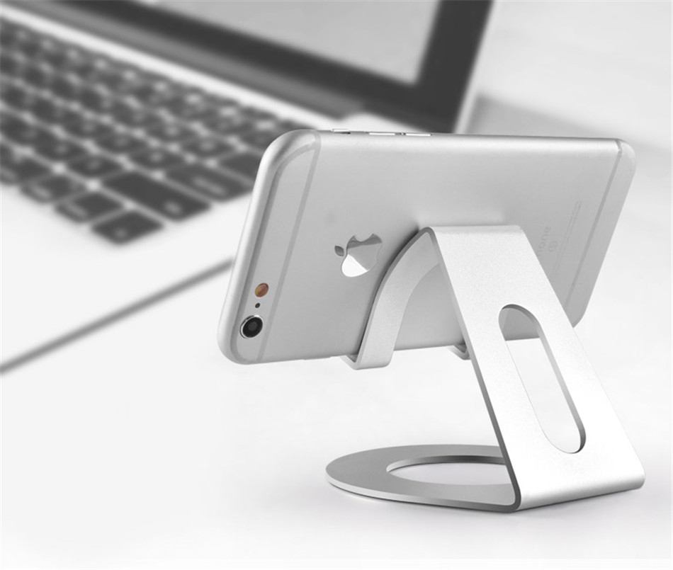 Metal Mobile Phone Holders Stands Universal Tablet Stand Desktop Holder For iPhone X 7 8 Plus For Samsung S9 Plus For Huawei (1)