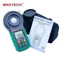 Lux meter mastech ms6612S 200,000 Lux Light Meter Test Spectra Auto Range High Precision Digital Luxmeter Illuminometer
