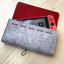 Storage Bag for Nintendo Switch Console Pika Case Durable Carrying Case for Nintendo NS Switch Game Console Protective bag