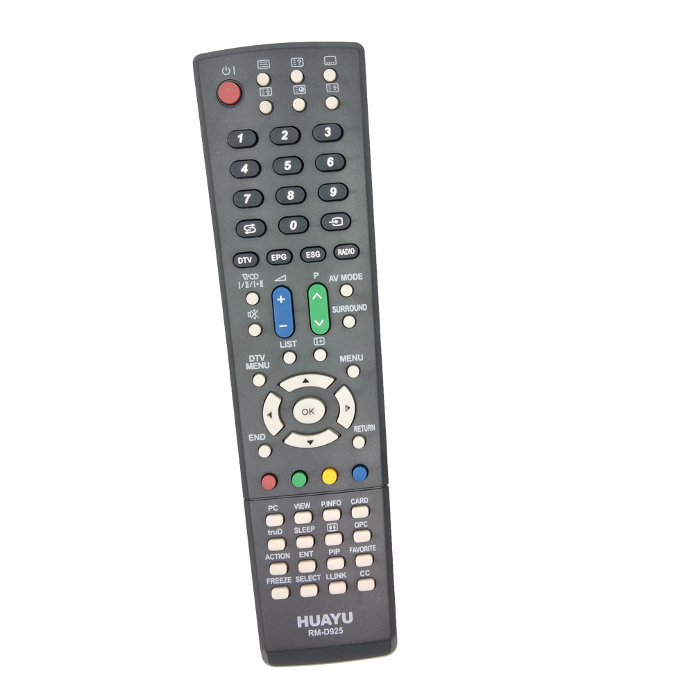RM D925 REMOTE CONTROL for Sharp TV By HUAYU Factory-in