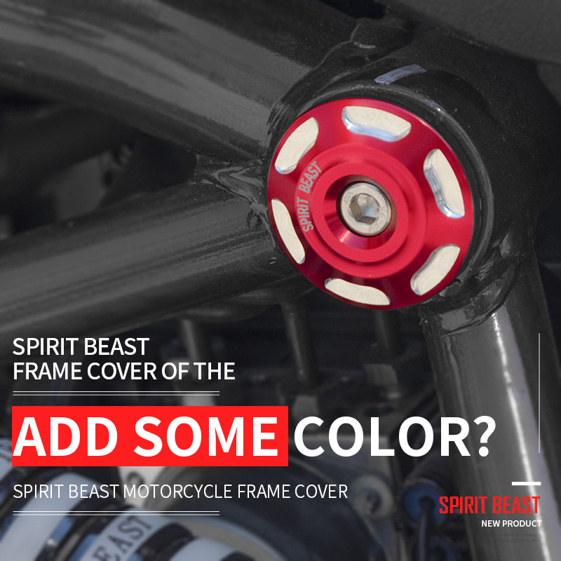 Spirit beast BN300 frame cover accessories motorcycle BJ300GS decorative body screw cover motorbike modeling free shipping