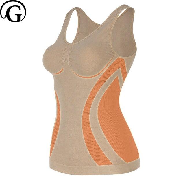 c5d0c856e0 PRAYGER NEW Women Seamless Body Shaper Slimming Tummy Control Waist Tank Top  Lift Breast Sleeveless Shapewear
