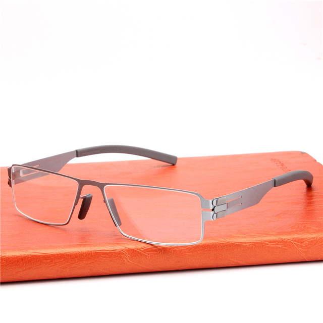 3acbde1364 placeholder High quality IC Germany Unique No screw Design Brand Eyeglasses  Frames Ultra Light Ultra thin Men