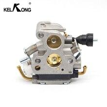 Kelkong carburador para om 435 435e 440 440e, compatível com jonsared cs410 cs2240, aparador de serra elétrica #506450501 d20, substituição de carb